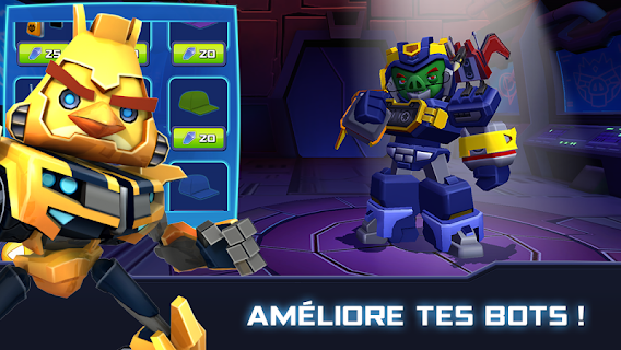 Screenshot 2: Angry Birds Transformers