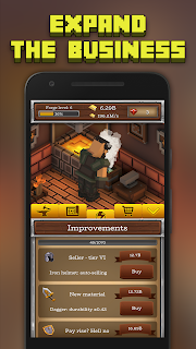 Screenshot 4: ForgeCraft - Idle Tycoon. Crafting Business Game.