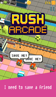 Screenshot 1: Run Run Arcade