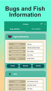 Screenshot 2: Guide for Animal Crossing New Horizons (ACNH)