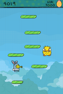 Screenshot 2: Doodle Jump Easter Special
