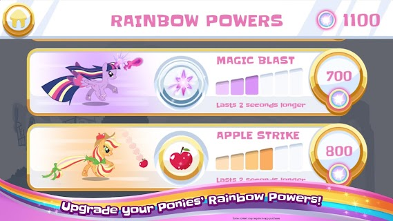 Screenshot 3: My Little Pony Rainbow Runners