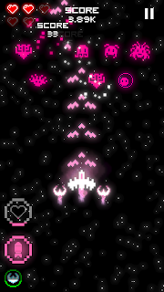 Screenshot 3: Arcadium - Classic Arcade Space Shooter
