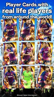 Screenshot 2: PES CARD COLLECTION