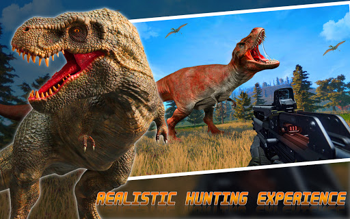 Screenshot 1: Wild Dino Hunter Animal Hunting Games 2021