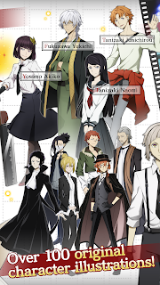 Screenshot 3: Bungo Stray Dogs: Tales of the Lost | อังกฤษ