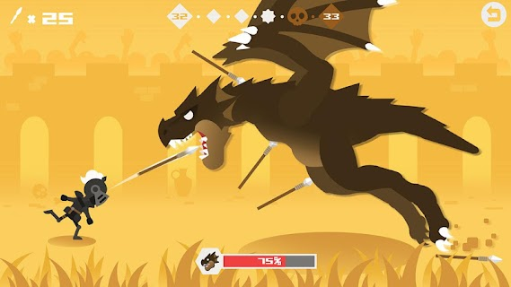 Screenshot 1: Hero of Archery