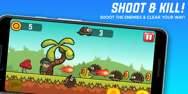 Screenshot 2: Super Kong Monkey Jumper – Super Adventure Games