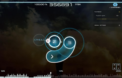 Screenshot 3: osu!