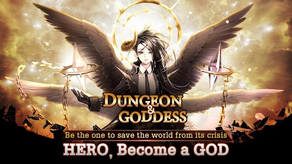 Screenshot 1: DUNGEON & GODDESS: Hero Collecting RPG