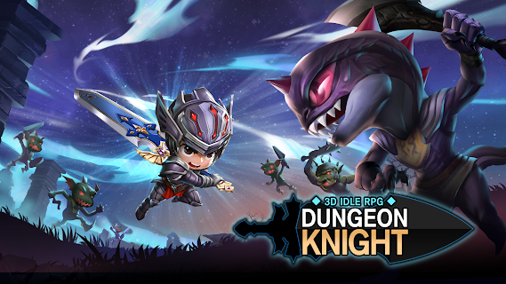 Screenshot 1: Dungeon Knight: 3D Idle RPG