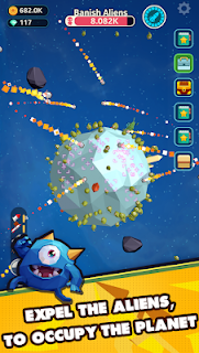 Screenshot 1: Planet Invader