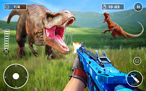 Screenshot 3: Wild Dino Hunter Animal Hunting Games 2021