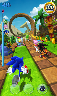 Screenshot 2: Sonic Forces: Speed Battle