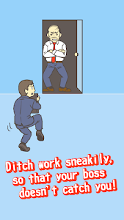 Screenshot 2: Ditching Work2 -room escape game