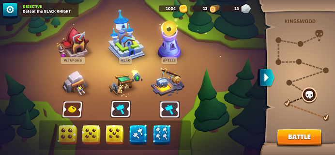 Screenshot 2: Dice Quest