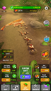 Screenshot 3: Little Ant Colony - Idle Game