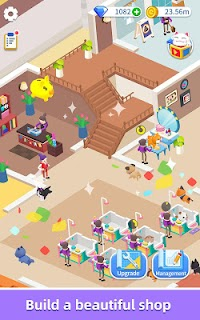 Screenshot 4: Idle Pet Salon