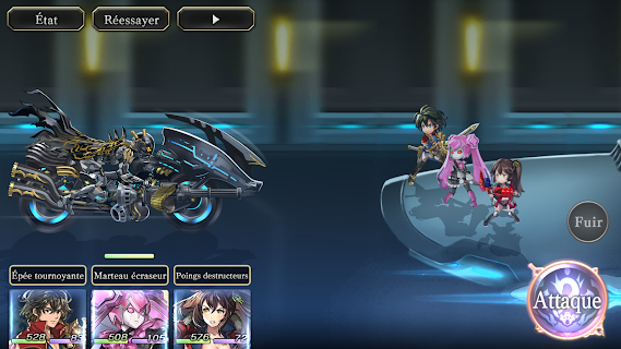Screenshot 3: Another Eden: The Cat Beyond Time and Space | Globale