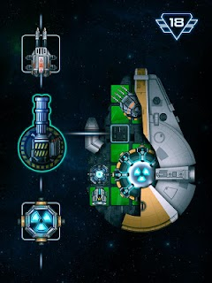 Screenshot 1: Space Arena: Galáctica Armada