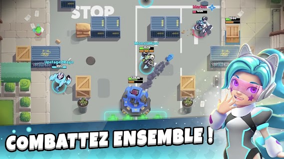 Screenshot 2: Stardust Battle: MOBA d'élite en 3c3