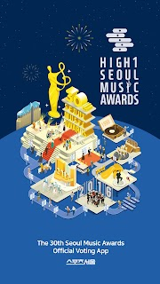 Screenshot 1: The 30th Seoul Music Awards Official Voting App