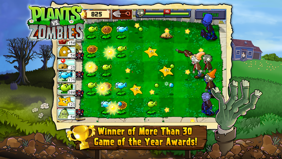 Screenshot 1: Plants vs. Zombies FREE