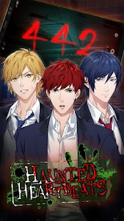 Screenshot 1: Haunted Heartbeats: Horror Otome Romance Novel