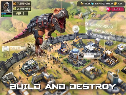 Screenshot 2: Dino War: Rise of Beasts