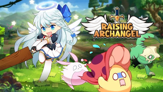 Screenshot 1: Raising Archangel: AFK Angel Adventure | Globale