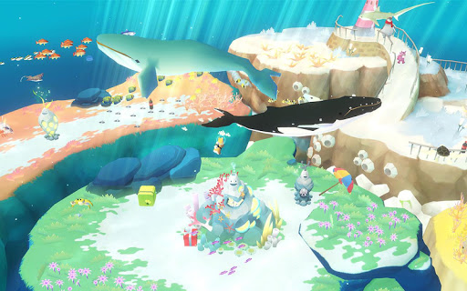 Screenshot 2: 深海水族館世界