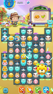 Screenshot 1: LINE Puzzle Everytown