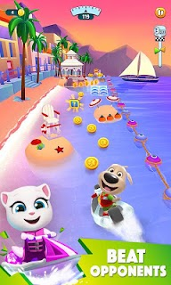 Screenshot 2: Talking Tom Jetski 2
