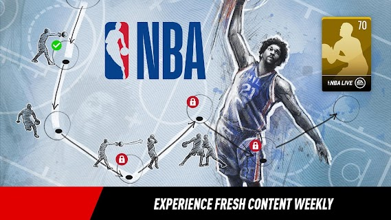 Screenshot 3: NBA LIVE Mobile