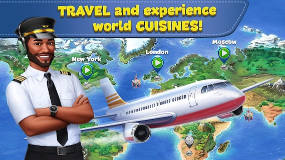 Screenshot 2: Airplane Chefs - Cooking Game