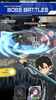 Screenshot 1: SWORD ART ONLINE: Memory Defrag | Asia