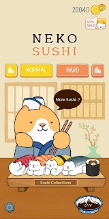 Screenshot 1: Neko Sushi
