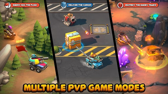 Screenshot 2: Pico Tanks: Multiplayer Mayhem