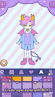 Screenshot 2: BatDoll Dress up doll boy - avatar character maker