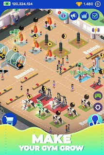 Screenshot 4: Idle Fitness Gym Tycoon
