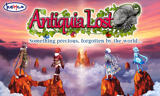 Screenshot 1: RPG Antiquia Lost