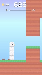 Screenshot 1: Square Bird