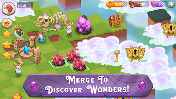 Screenshot 1: Merge Magic!