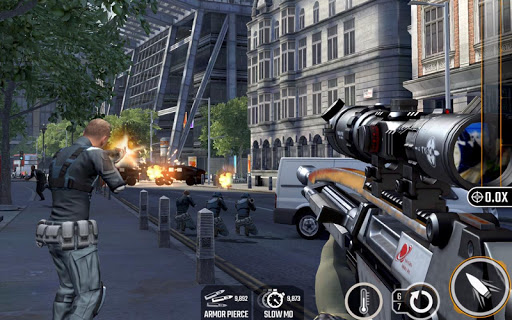 Screenshot 1: Sniper Strike – FPS 3D Shooting Game