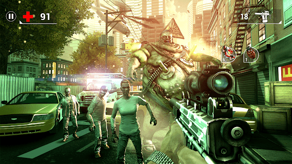 Screenshot 4: UNKILLED - Zombie FPS Shooting Game