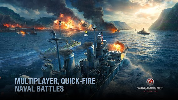 Screenshot 3: World of Warships Blitz: Gunship Action War Game