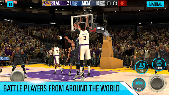 Screenshot 1: NBA 2K Mobile Basketball