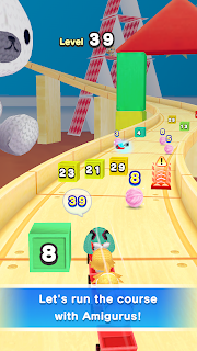 Screenshot 2: Hatsune Miku Amiguru Train
