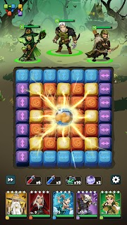 Screenshot 4: Fable Wars: Epic Puzzle RPG