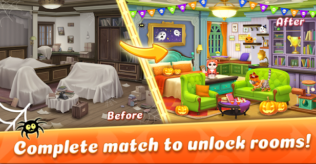 Screenshot 1: Kitten Match